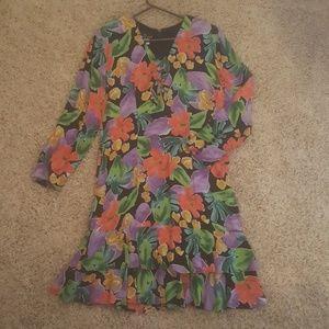 Carole Little floral dress